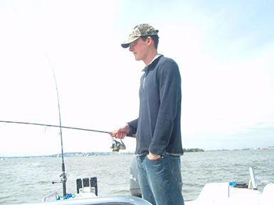 Jigging for Summer Flounder