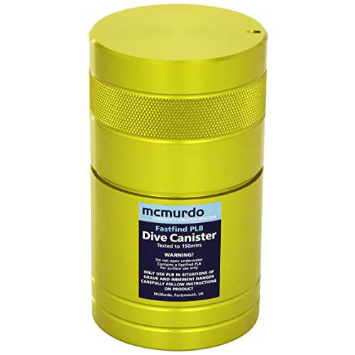 mcmurdo dive plb canister