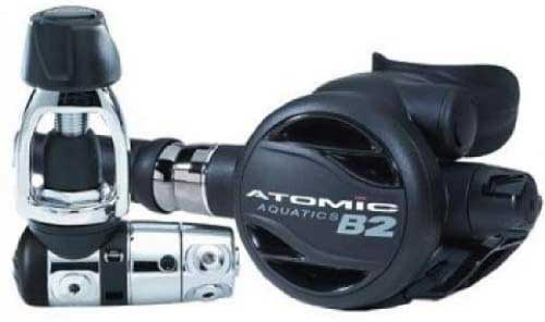 atomic aquatics b2 yoke scuba diving regulator