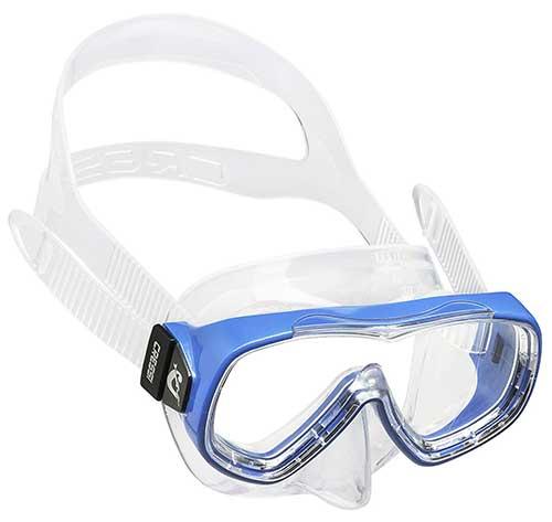 cressi piumetta small kids snorkel mask