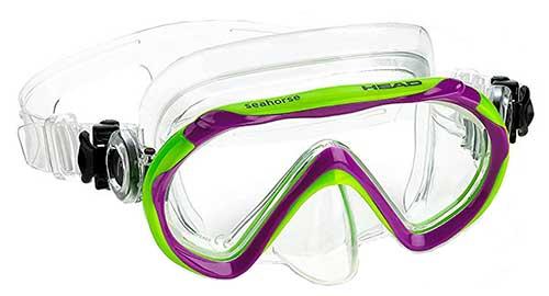 head kids snorkel mask