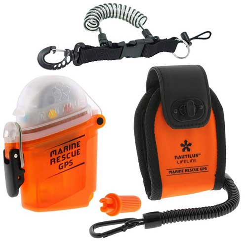 marine rescue safety radio for snorkeling