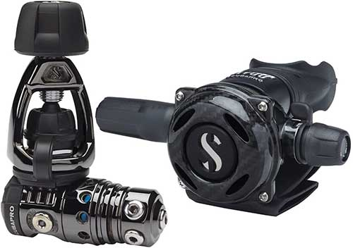 scubapro mk25 evo a700 black tech scuba regulator
