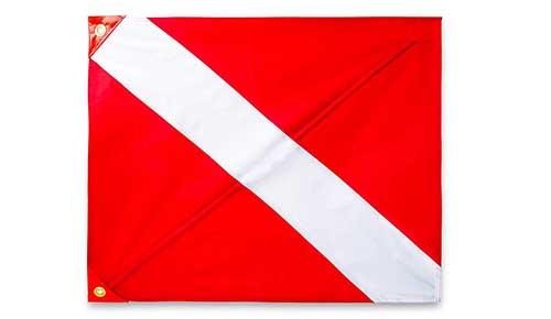 snorkeling dive flag