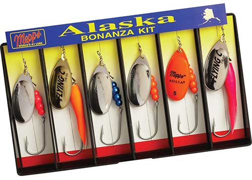 mepps alaska salmon spinners for rivers and streams