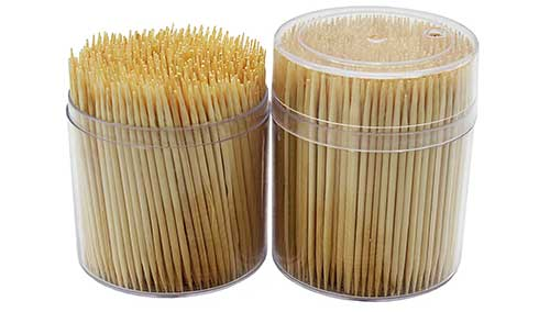 toothpicks for salmon beads