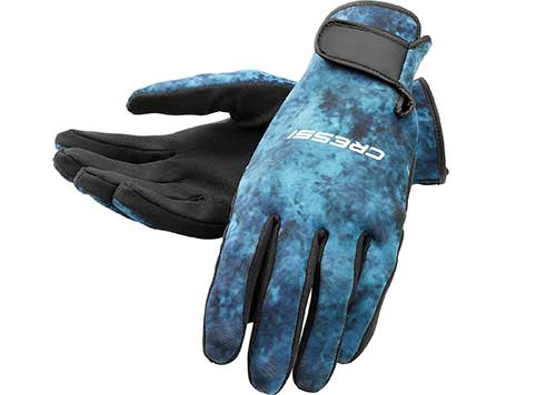 dive gloves for spearfishing with with pole spear