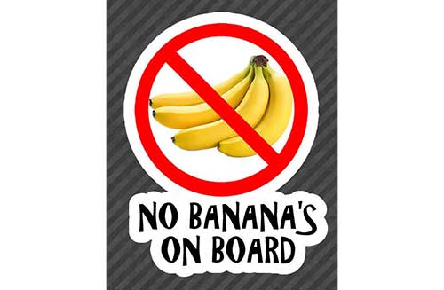 no-bananas-on-board-fishing-sticker