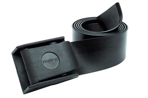 riffe-rubber-weight-belt