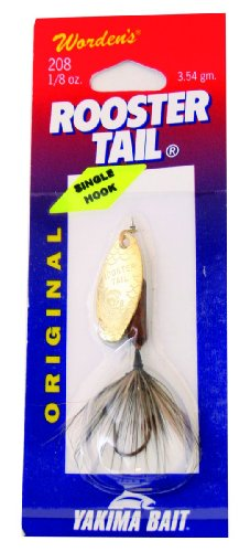 Pumpkin Seed Gold Rooster Tail