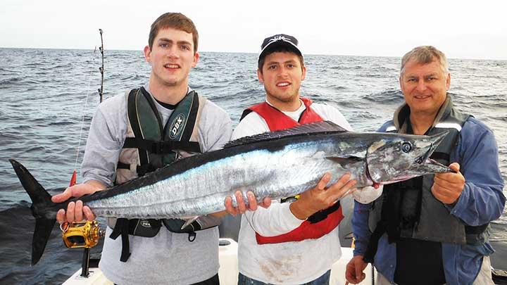 cody fishing for wahoo in florida