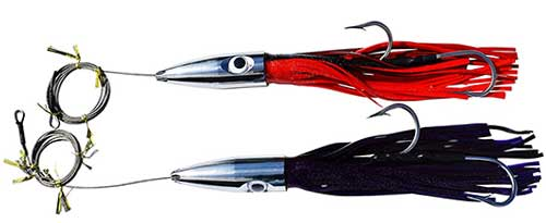 eatmy tackle jetted bullet head wahoo fishing lure