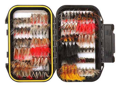 fly kit for fly fishing for grayling