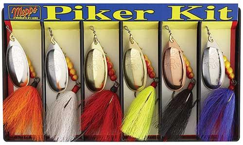 mepps piker kit pickerel fishing lures
