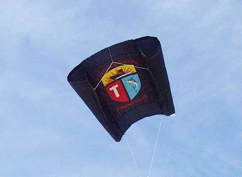 sailfish kite with wind sock