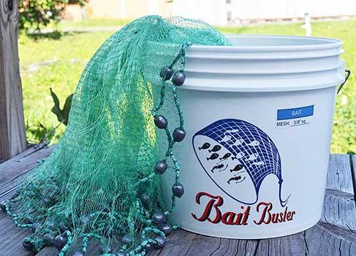 bait buster professional grade cast net