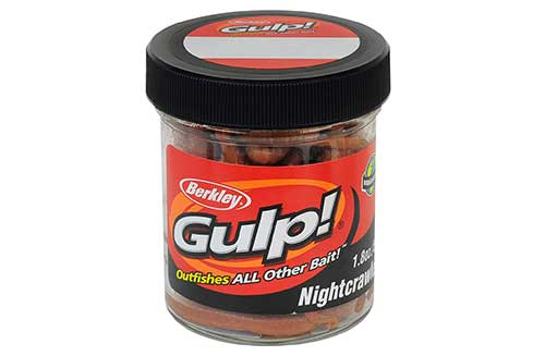 berkley gulp nightcrawler worm walleye bait