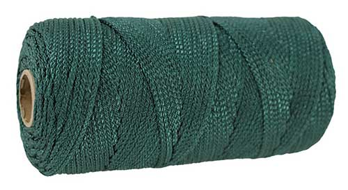 braided nylon twine for halibut rigs