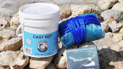 joy fish cast net