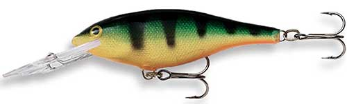 rapala shad rap walleye lure