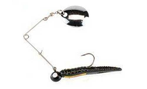 small spinner bait johnson beetle black and silver best crappie lures