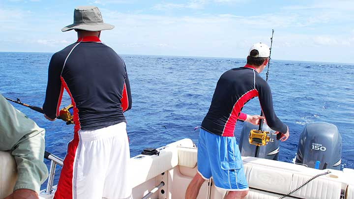 tuna fishing offshore