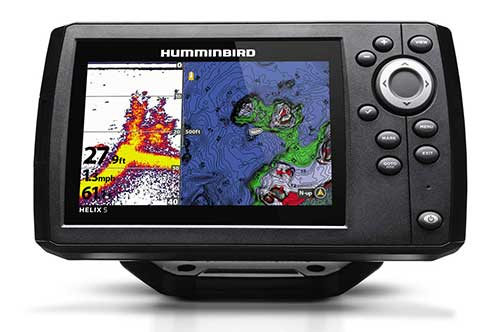 Humminbird Helix 5 G2 CHIRP fish finder combo