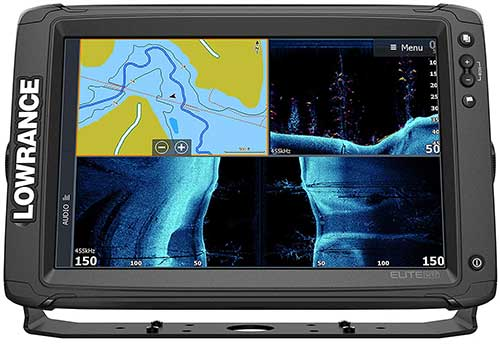 Lowrance Elite 12 fish finder