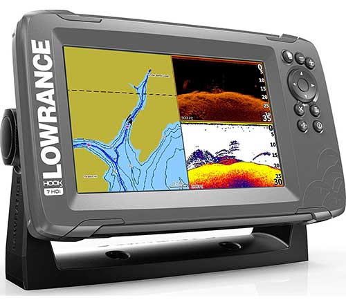 Lowrance-Hook2-W-SplitShot-fish-finder