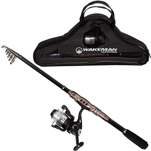 Wakeman-Ultra-series-telescopic-spinning-rod-combo