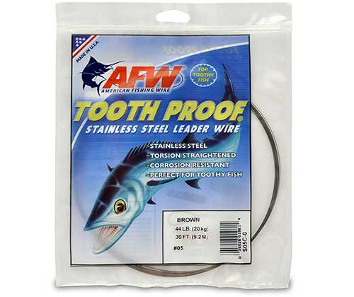 afw wire for bluefish rig