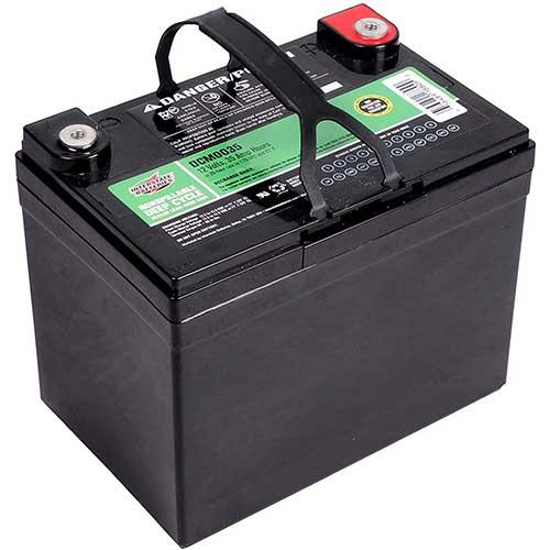 interstate battery sealed lead acid deep cycle trolling motor battery 35-ah