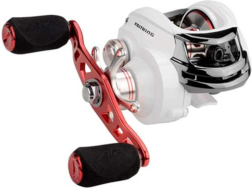 kastking royale legend whitemax low profile baitcasting reel