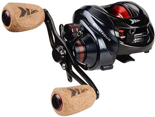 kastking spartacus baitcasting reel ultra smooth casting reel