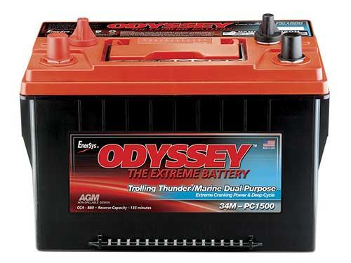 odyssey trolling thunder marine battery