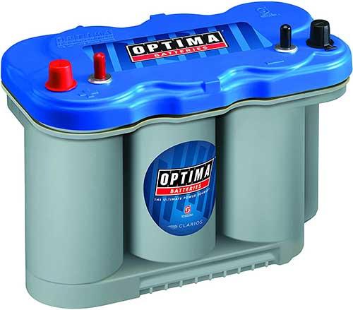 optima battery d27m deep cycle marine battery 66-ah