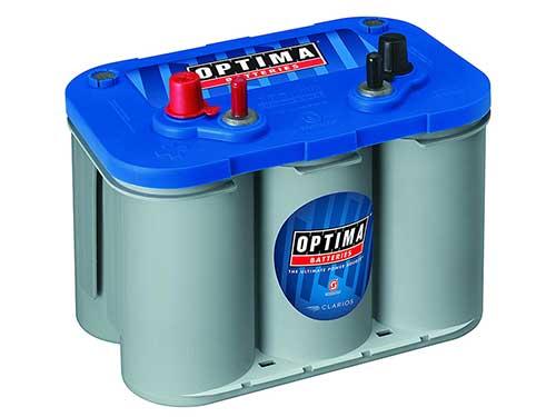 optima bluetop d-34m deep cycle marine trolling motor battery 55-ah