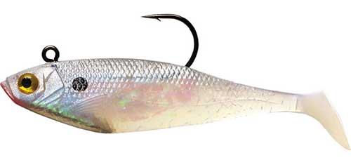 storm swim shad jig bluefish lure