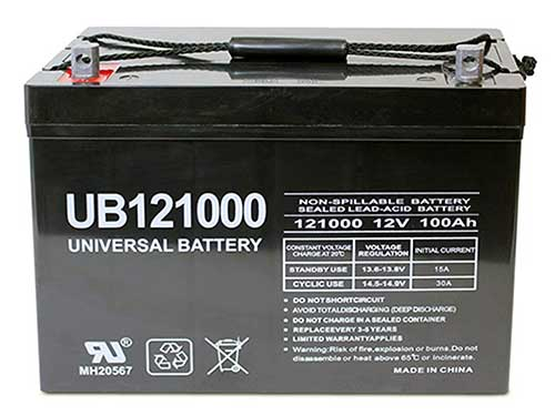 universal power group deep cycle battery