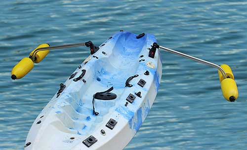 Brocraft Kayak Outrigger