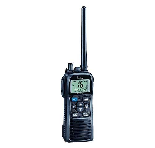 icom marine vhf handheld radio