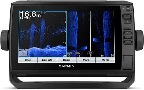 garmin ecomap uhd touchscreen fish finder