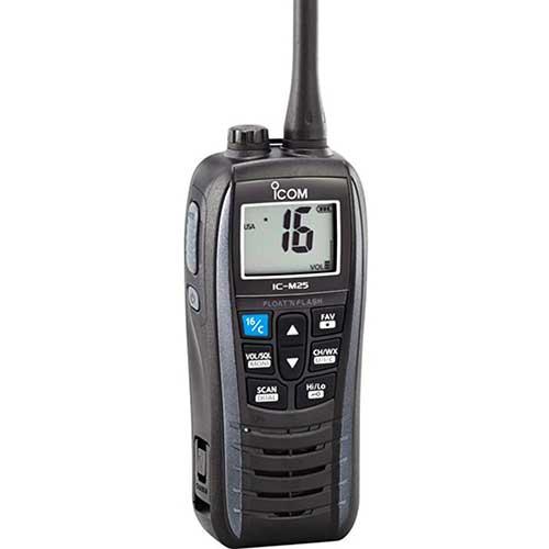 icom m25 handheld vhf marine radio