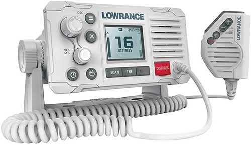 lowrance vhf marine radio