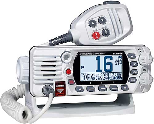 standard horizion eclipse gtx1400 fixed mount marine radio