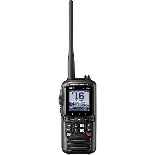 standard horizon hx890 handheld vhf marine radio