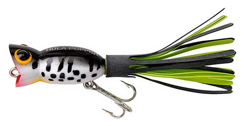 arbogast hula popper bass lure