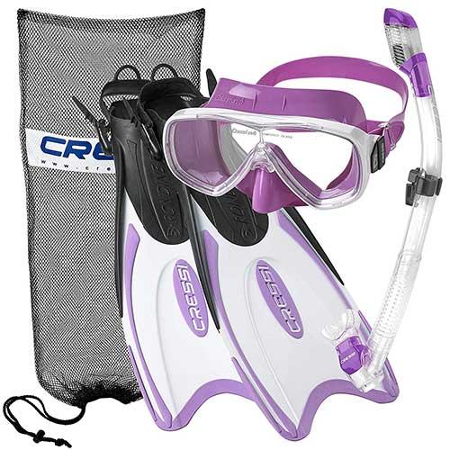 cressi-adult-light-weight-premium-travel-snorkel-gear-set