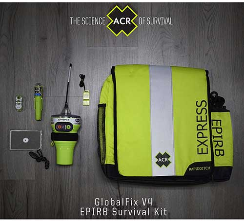 globalfix v4 epirb survival kit