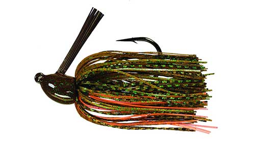 jig with crayfish combo bass lure